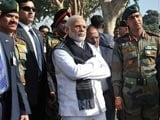 Video : PM Narendra Modi Visits Pathankot Air Base