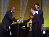 Video : Lionel Messi Wins Ballon D'Or Trophy for Record Fifth Time