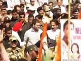Video : मुंबई में बिजली दरों के खिलाफ राहुल गांधी की पदयात्रा