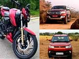 Video: New Generation Ford Endeavour, First Look At KUV100 & TVS Apache RTR200 Review