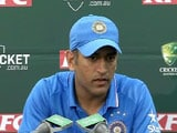 Extra Credit to Bowlers For Australia Series Sweep: MS Dhoni
