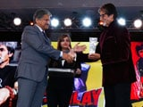 Video: At NDTV Indian of the Year, a Roomful of Big B Fans