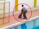 Video : बेंगलुरु के स्कूल में घुसा तेंदुआ, 12 घंटे की मशक्कत के बाद आया पकड़ में