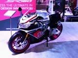 Piaggio Aprillia SR 150 Sports Scooter-Bike Unveiled at 13th Auto Expo