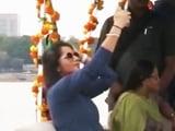 Video : तेलंगाना टूरिज़्म को बढ़ावा देने पहुंची टेनिस स्टार सानिया मिर्जा