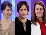 Video: Melinda Gates, Kalki Koechlin And Suneeta Dhar On She The People