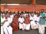 Video : Communist Party Of Murderers, Says BJP Protesting Fatal Attacks In Kerala