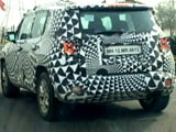 Video : Jeep Renegade Spied Testing in India