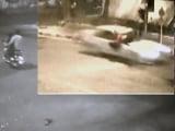 Video : CCTV में कैद : मर्सिडीज सवार ने सड़क पार कर रहे शख्स को दी दर्दनाक मौत