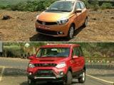 Mahindra NuvoSport, Tata Tiago, Mercedes-Benz GLE 450 AMG Coupe Review and JK Tyre Himalayan Drive