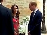 Video : Britain's Royal Couple Arrive In Mumbai, Pay Tributes To 26/11 Victims