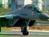 Video : When Military Doesn't Pay Duty, MiG Fighter Plane Stands In Warehouse