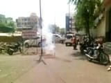 Video : Fireworks Over 'Welcome' For BJP MPs' Team Touring Latur