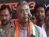 Video : 'Can Break Shoulders With Bare Hands': Bengal BJP Chief Threatens Trinamool