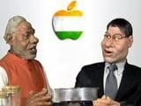 Video : तमाशा लाइव :  पीएम नरेंद्र मोदी और टिम कुक की बातचीत