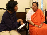 Video: Uma Bharti On UP Polls And Why She Can't Think Beyond Ganga