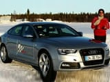 Video: Audi A5 & RS5 on Ice