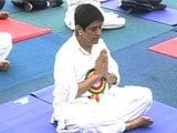 Video : Puducherry Cabinet Skips Governor Kiran Bedi's Yoga Day Session