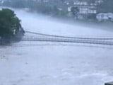Video : उत्तराखंड के कई इलाकों में भारी बारिश, हरिद्वार में गंगा खतरे के निशाने पर