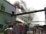 Video : गाजियाबाद की दवा कंपनी में लगी आग