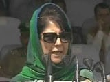 Video : 'Guns Can't Get Us Justice': Mehbooba Mufti's Independence Day Message