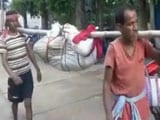 Video : No Ambulance To Carry Body, Odisha Workers Break Woman's Bones, Stuff It In Bag