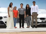 A BMW Each For Sindhu, Dipa, Sakshi. Sachin Tendulkar Does The Honours.