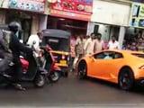 Video : On Camera: Lamborghini, Driven By BJP Legislator's Wife, Hits Auto