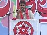 Video : 'Stale Laddoos, No Thanks': Actor Pawan Kalyan Attacks Andhra Package