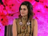 Video: #NDTVYouthForChange: दिल्ली में कोई ऐसी लड़की नहीं जिसने कमेंट नहीं सुना हो- तापसी पन्नू