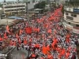 Video : Marathas Take To Streets With Demand For Quota, Say Persecuted By Dalits
