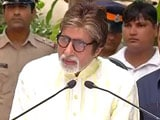 Video : Have Not Signed Up To Sing Tribute About Uri Soldiers: Amitabh Bachchan