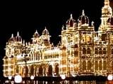 Video : दशहरे के मौके पर रोशनी में नहाया मैसूर का महल
