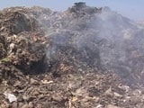 Video : Residents Choke On Smoke As Delhi's Landfills Burn Unchecked