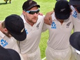 Tough for Kane Williamson, McCullum NZ