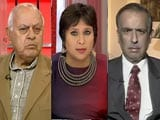 Video: 'Kashmir Ship Sinking, PM Must Act Now': Farooq Abdullah vs PDP's Amitabh Mattoo
