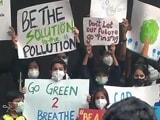 Video : दिल्ली : प्रदूषण के खिलाफ स्कूली बच्चों का प्रदर्शन