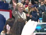 Video : Hillary Clinton Has Voted In New York, Polls Give Her The Edge