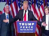 Video : हिलेरी क्लिंटन को पछाड़कर व्हाइट हाउस 'पहुंचे' डोनाल्ड ट्रंप