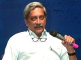 Video : Manohar Parrikar's Nuclear Remark Stressed As 'Personal Opinion'