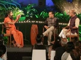 Video: Shekhar Gupta, Chetan Bhagat In Conversation With Yoga Guru Ramdev