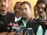 Video : 'World's Biggest Impromptu Financial Experiment': Rahul Gandhi On Notes Ban