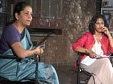 Video : New Kids On The Block: Minister Nirmala Sitharaman's Money Talk In JNU