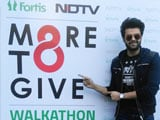Video : Television Host Manish Paul Flags Off Walkathon For Organ Donation