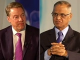 Video : Bill Ford In Conversation With Narayana Murthy