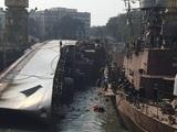 Video : मुंबई के डॉकयार्ड पर पलटा INS बेतवा, चालक दल के 2 सदस्यों की मौत