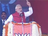 Video : PM Refers To Rajiv Gandhi In Attack On Congress Over Notes Ban