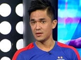 Video : Indian Football Not Improving as Fast as Other Asian Teams: Sunil Chhetri