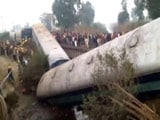 Video : Kanpur Train Accident: Over 40 Injured As Sealdah-Ajmer Express Derails