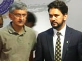 Video : Supreme Court Removes Anurag Thakur As BCCI President